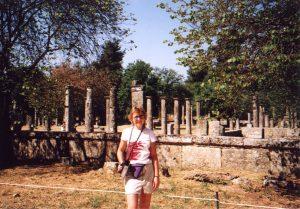 Palestra, czyli szkoła zapaśnicza w Olimpii w Grecji