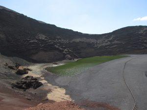 Lago de los Clicos na Lanzarote