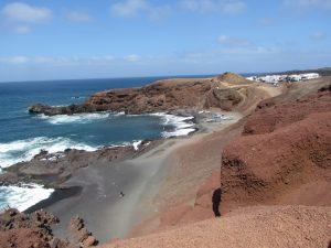 El Golfo na zachodnim brzegu Lanzarote
