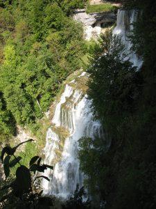 Wodospady Cascades du Herisson