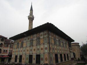 Pstry Meczet (Xhamia E Larme) w Tetovie