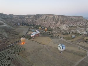 Lot balonem nad Kapadocją