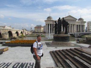 Plac Macedonia w Skopje