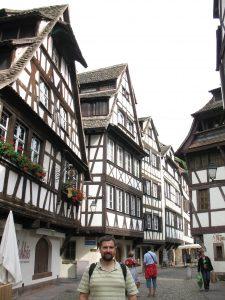 Dzielnica Petit France w Strasburgu