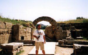 Wejście na Stadion Olimpijski w Olimpii w Grecji