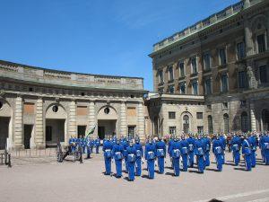 Pałac Królewski (Kungliga slottet) w Sztokholmie