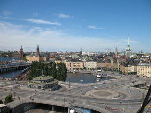 Gamla Stan, czyli starówka Sztokholmu w Szwecji
