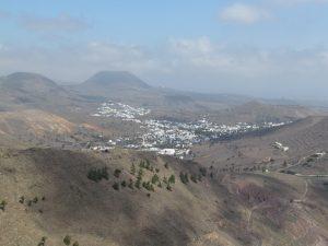 Widok z Mirador de Haria na Lanzarote