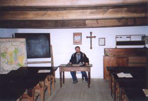 Szkoła w Skansenie w Maurzycach