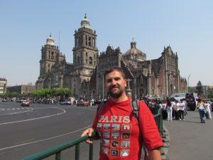 Katedra Metropolitana na Placu Zocalo w Mieście Meksyk
