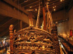 Rufa okrętu Vasa w Vasamuseet w Sztokholmie w Szwecji