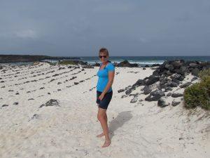 Plaża niedaleko Orzola na Lanzarote