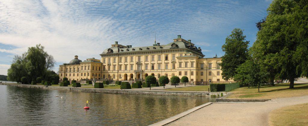 Oficjalna rezydencja Króla Szwecji - Pałac Drottningholm