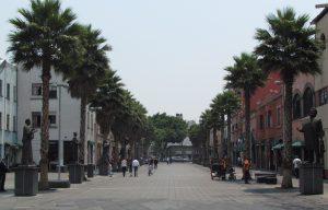 Calle de Honduras w Mieście Meksyk