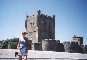 Cytadela w mieście Braganca