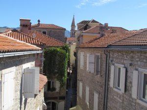 Budva - widok z murów miejskich