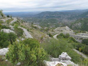Droga z Cetinje do Kotoru