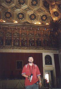 Wnętrze Alcazaru w Segovi