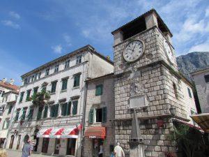 Wieża Zegarowa w Kotorze