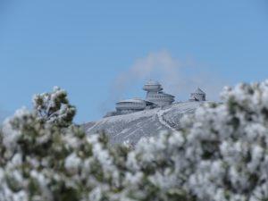 Bajkowy widok na Śnieżkę