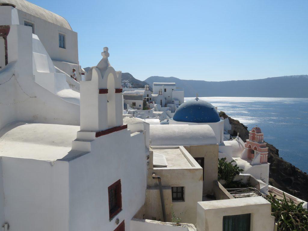 Oia - wizytówka Santorini