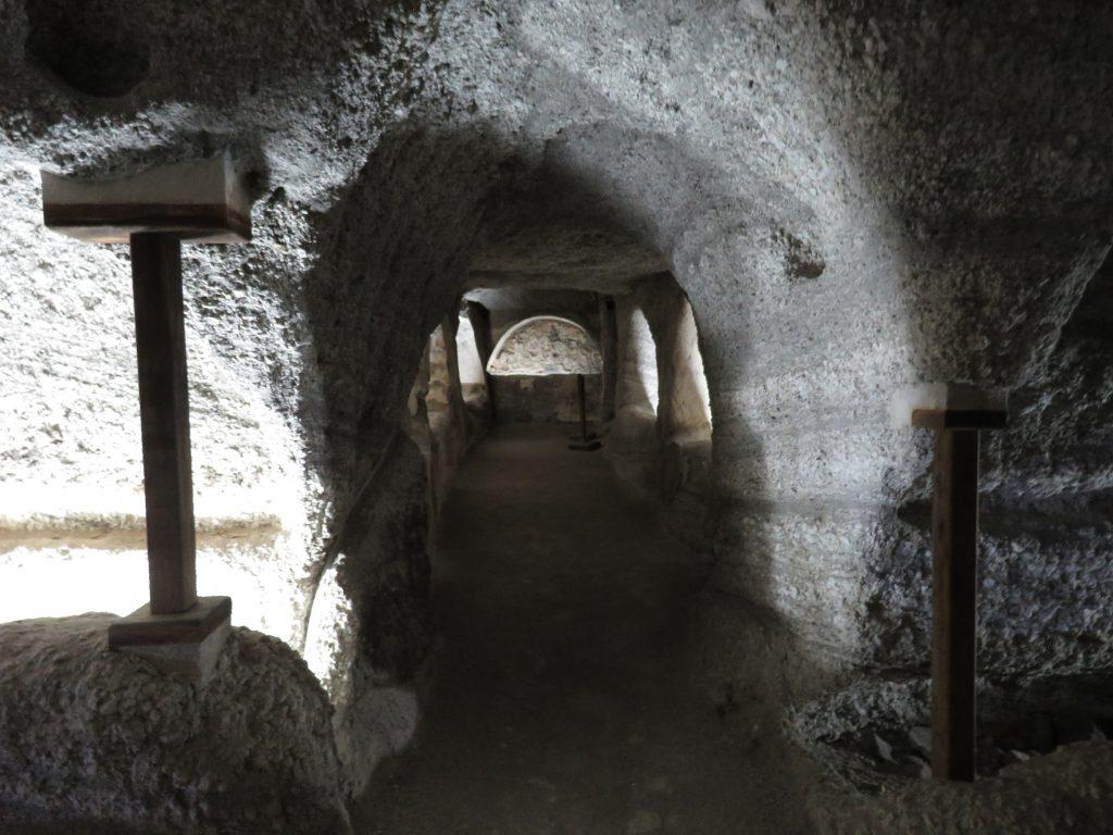 Katakumby w Tripiti