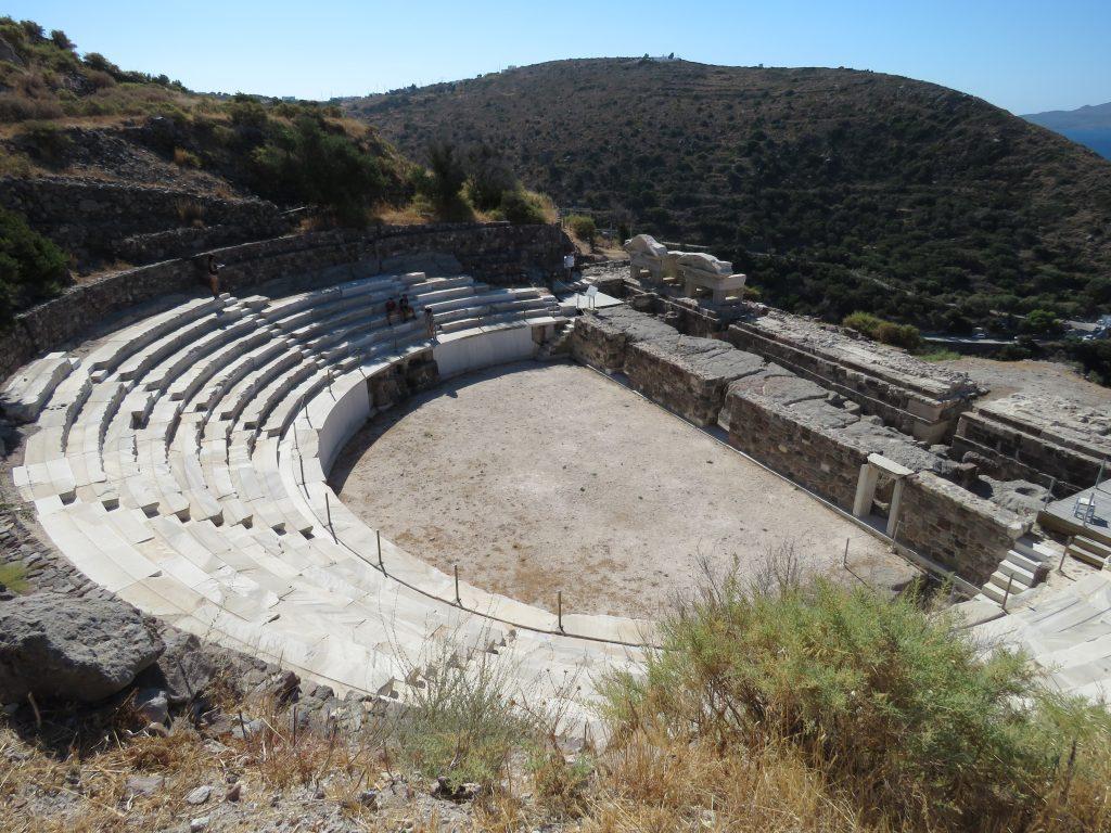 Starożytny teatr w Tripiti