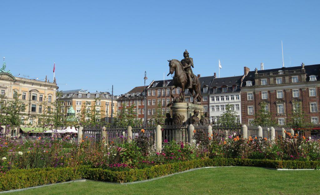 Kongens Nytorv w Kopenhadze