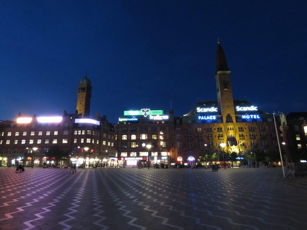 Rådhuspladsen, czyli Plac Ratuszowy w Kopenhadze