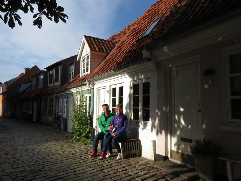 Uliczki Aalborg w Danii