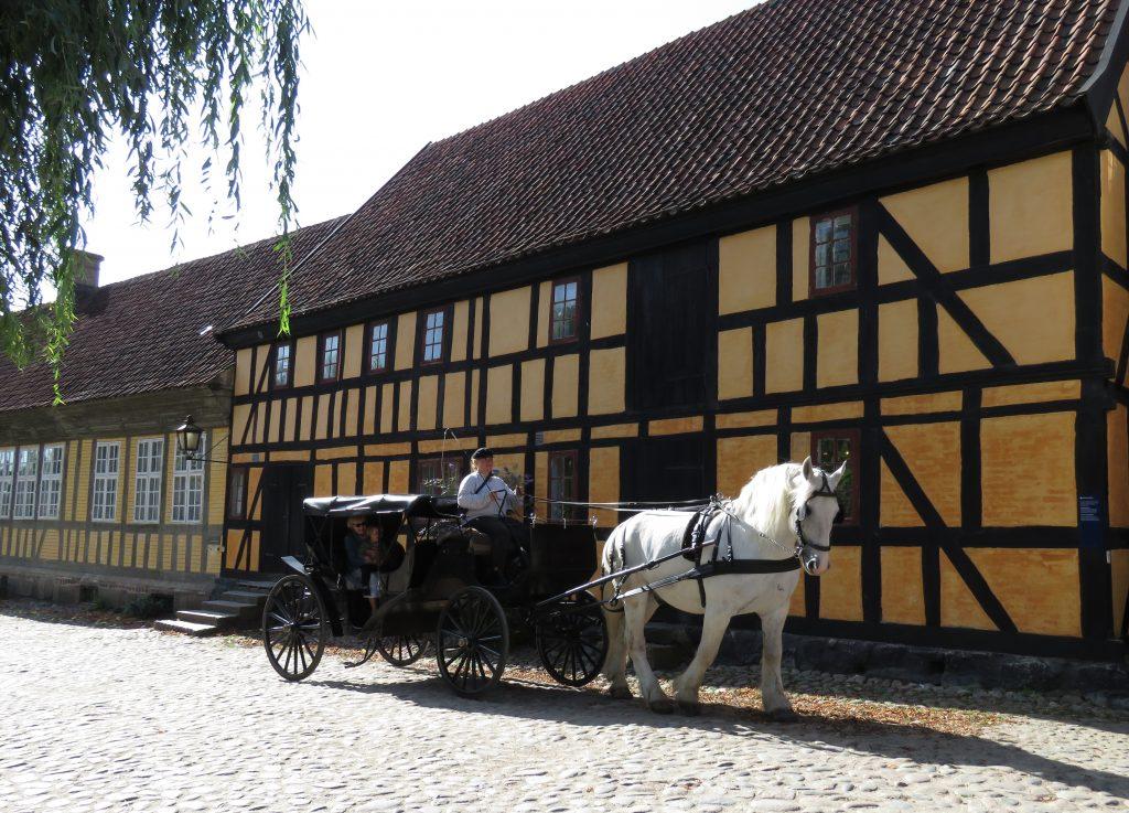Żywy skansen Den Gamle By w Aarhus