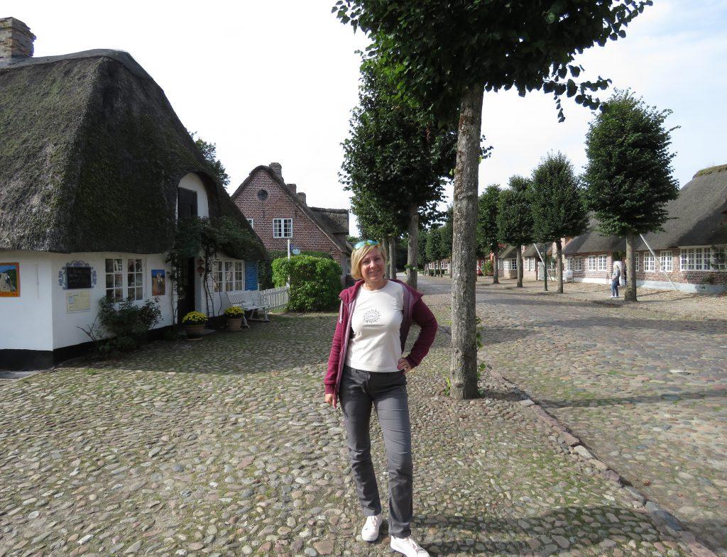 Domy kryte strzechą w Møgeltønder