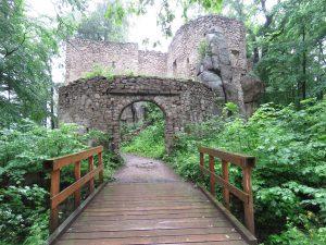 Zamek w Janowicach Wielkich