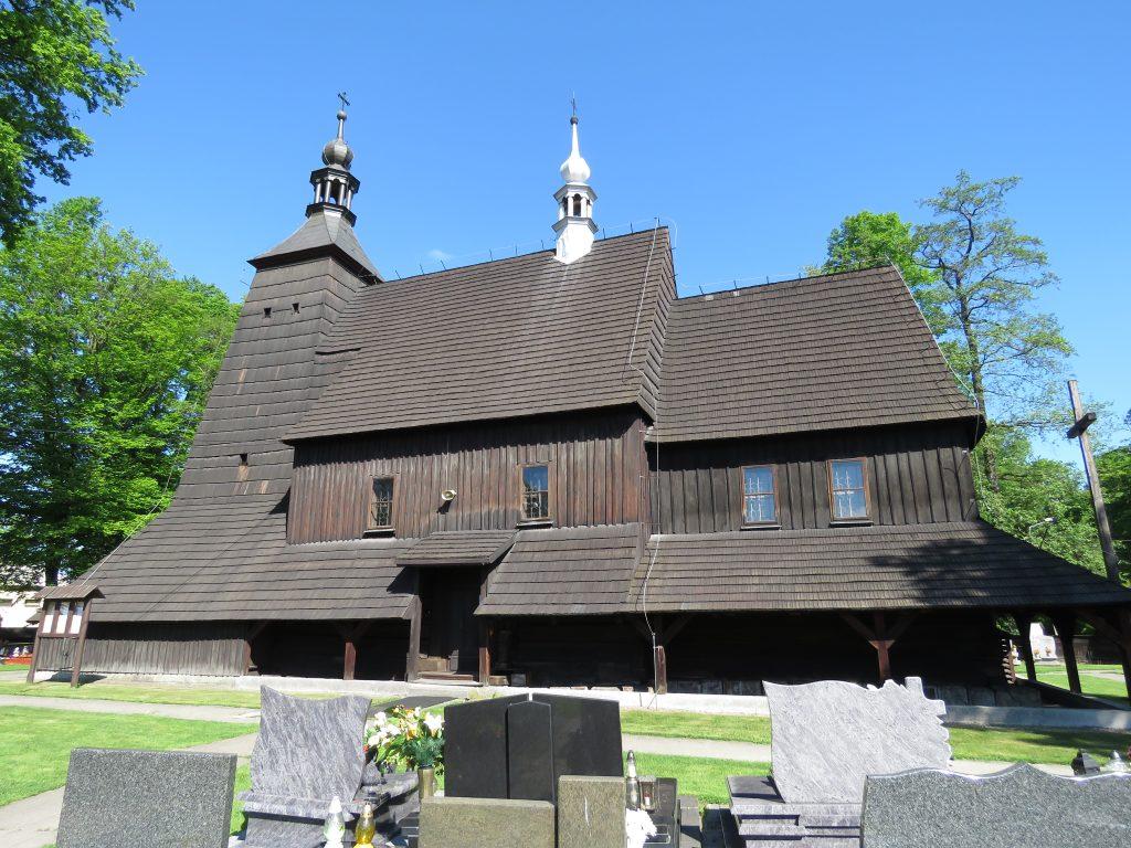 Kościół drewniany w Grzawie