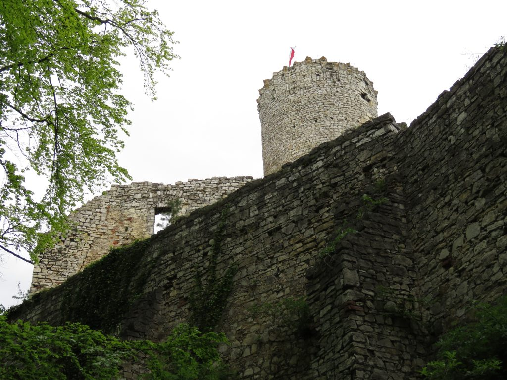 Ruiny Zamku Lipowiec w Babicach
