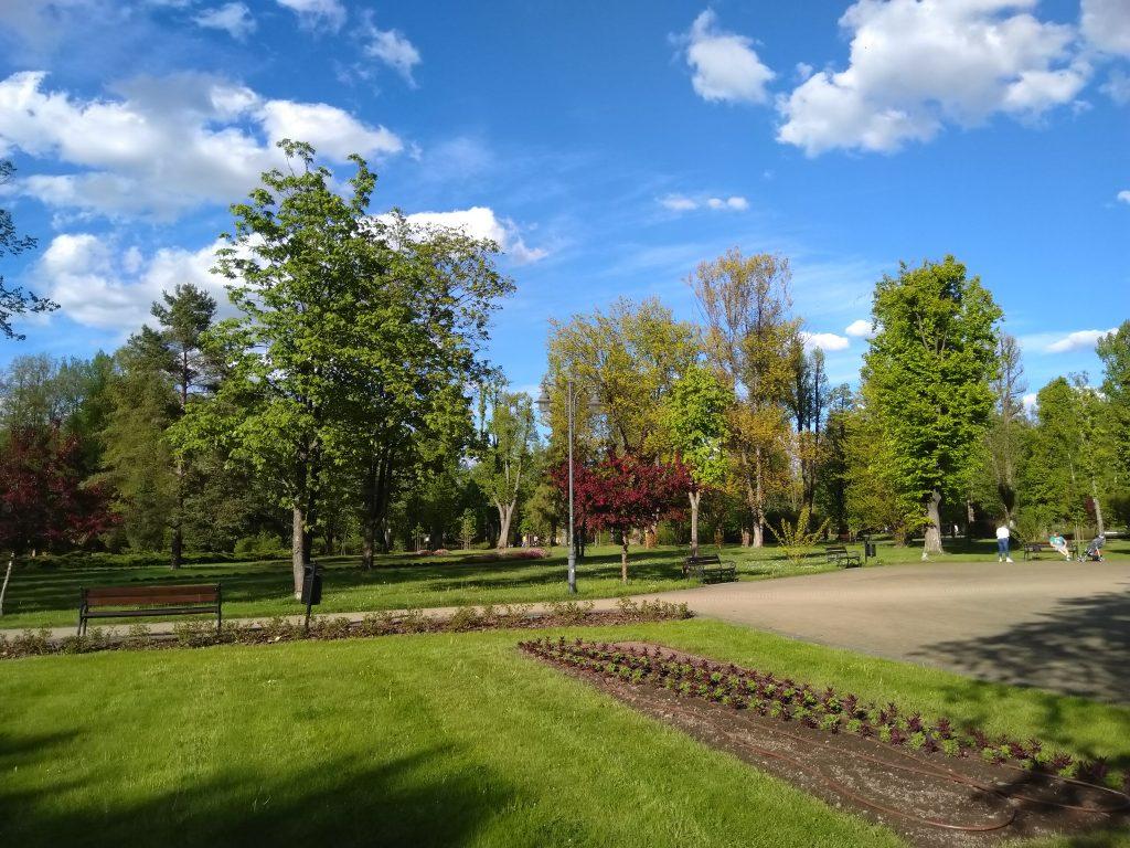 Park Zdrojowy w Rabce