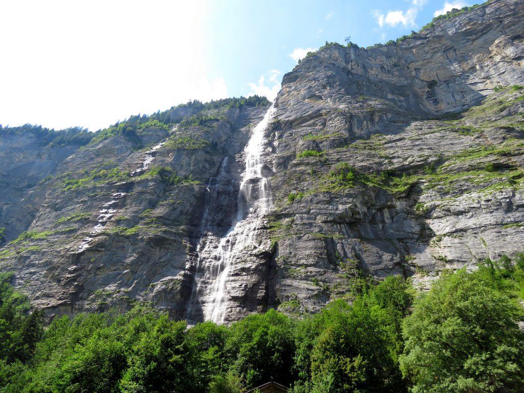 Wodospad Mürrenbachfall
