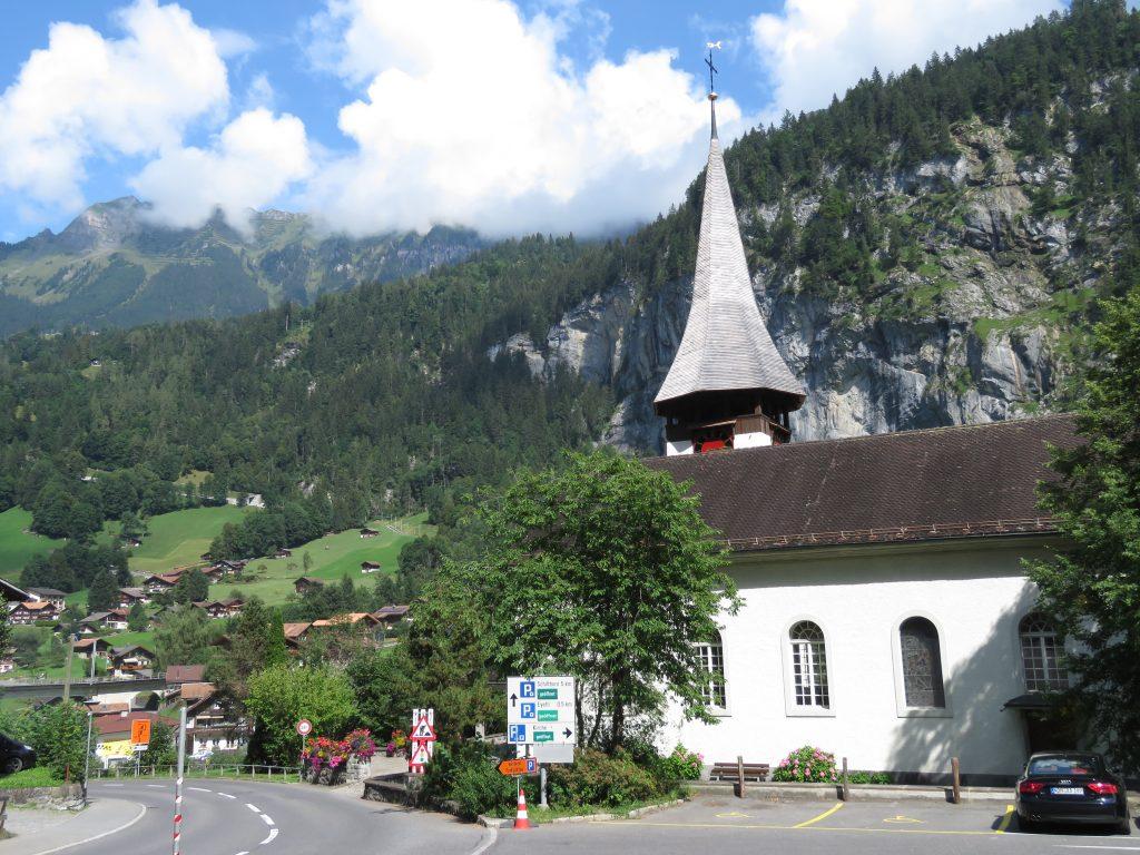 Kościół ewangelicki w Lauterbrunnen