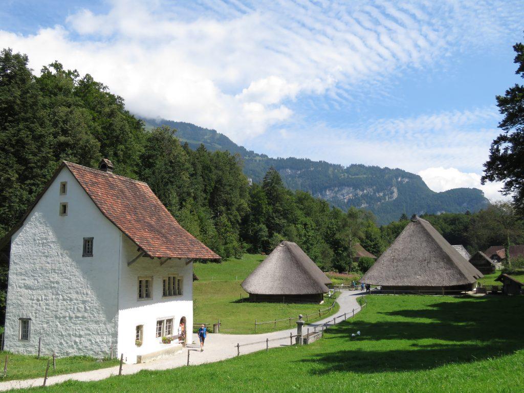 Skansen w Brienz - Ballenberg - Freilichtmuseum der Schweiz