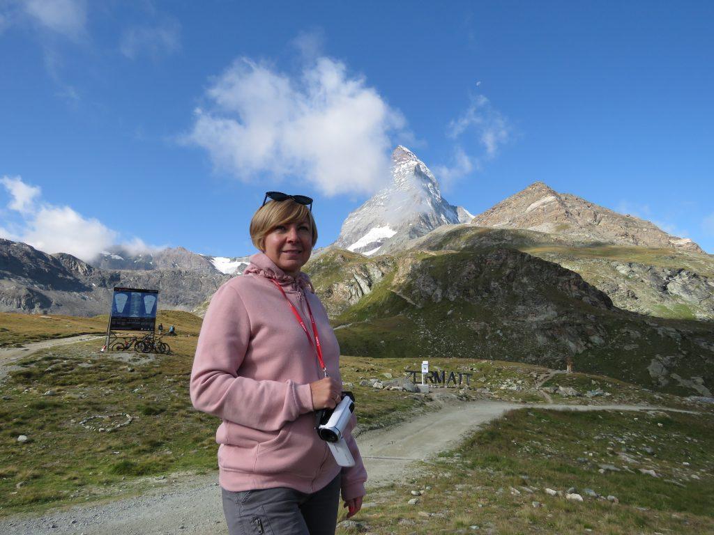 Matterhorn znad Schwarzsee