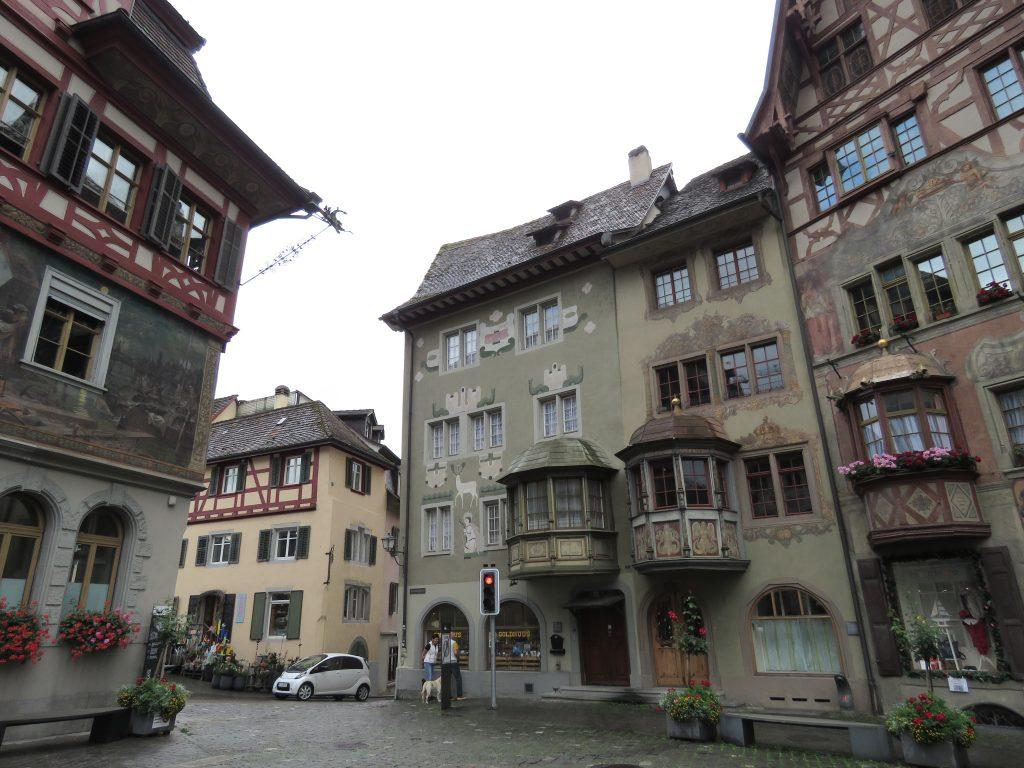 Rathausplatz w Stein am Rhein